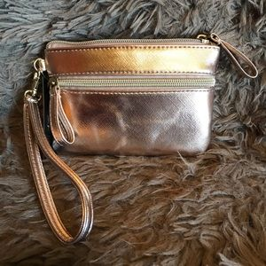 Wristlet in Rose Gold
